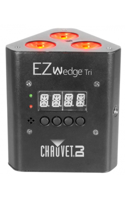 EZWEDGETRI - Battery-operated; tri-color LED wash light