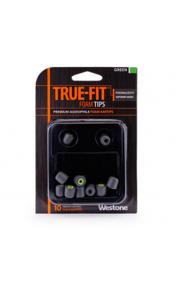TRUE-FIT EARTIPS-GRE - WESTONE TRUE-FIT Eartips-Green
