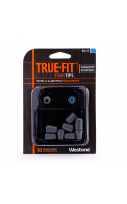 TRUE-FIT EARTIPS-BLU - WESTONE TRUE-FIT Eartips-Blue