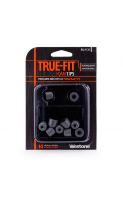 TRUE-FIT EARTIPS-BLA - WESTONE TRUE-FIT Eartips-Black