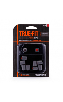 TRUE-FIT EARTIPS-RED - WESTONE TRUE-FIT Eartips-Red