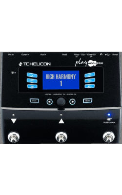 PLAY ACOUSTIC - TC HELICON Play Acoustic