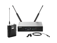 QLXD14/85-G50 - QLX-D Series Lav Wireless System (WL185 Mic, Cardioid, G Band)