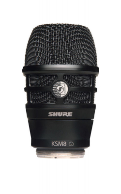 RPW174 - Black KSM8 Wireless capsule for Shure Transmitters