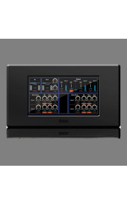 "BBWP-TOUCH7B - BlueBridge® 7"" Touch Panel Wall Controller (Black"