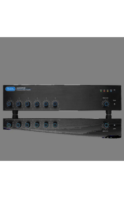 AA400PHD - 6-Input, 400 Watt Mixer Amplifier with Automatic S