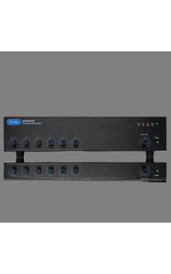AA200PHD - 6-Input, 200-Watt Mixer Amplifier with Automatic S