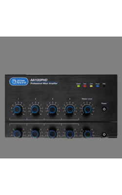 AA100PHD - 4-Input, 100-Watt Mixer Amplifier with Automatic S