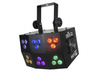 WASHFX - Feature packed compact Wash fixture with 18 LEDS