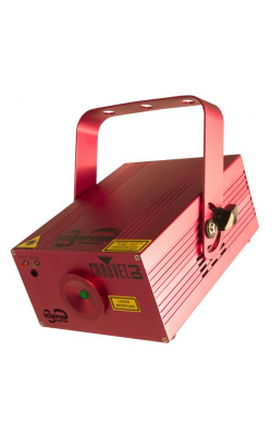 SCORPIONSTORMFXRGB - Tri-colored laser light