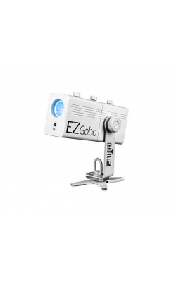 EZGOBO - Battery-powered LED gobo projector