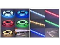 FLEX RGB+ WP - 10' Flexible RGB LED Pixel Tape with Waterproof Cover
