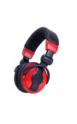 HP550 LAVA - Folding High Output Headphones (Red)