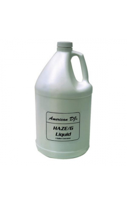 HAZE/G - Haze Liquid for American DJ Heaterless Haze Generators (1 gallon)