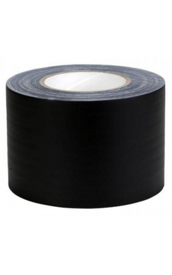 "GT4B - 4"" Gaffers Tape (Black)"