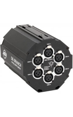 D6 BRANCH - D6 BRANCH; 6WAY, DMX SPLITTER