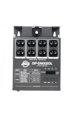 DP-DMX20L - Universal 4-Channel Portable DMX Dimmer/Switch Pack