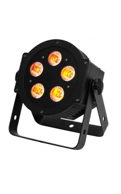 5P HEX - 5P HEX;LED Par with 5x10 W, 6-IN-1 Hex