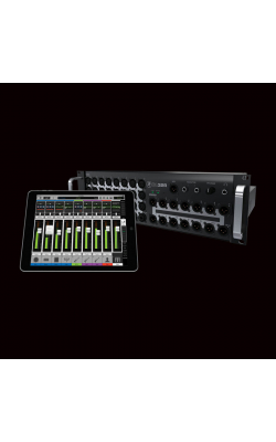 DL32R - DL Series 32-Ch Rackmount Digital Mixer w/Wireless iPad Control