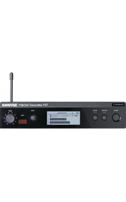 P3T=-G20 - PSM300 Series Half Rack Single Channel Wireless Transmitter (G20 band)
