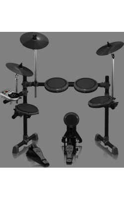 XD8USB - 8-Piece Electronic Drum Set with 110 Sounds, 15 Dr