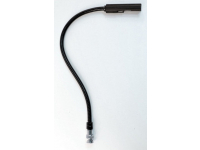 "12G - 12"" Low Intensity Gooseneck Lamp with BNC Connector"