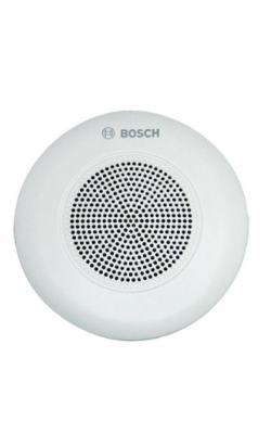 LC5-WC06E4 - Ceiling speaker, 6 watt, with wide coverage angle.