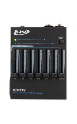 SDC12 - 12 CHANNEL BASIC DMX CONTROLLER