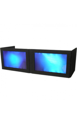 GS-LSB1652T - Black Lycra Table Top DJ Façade for AT-5422 DJ Table