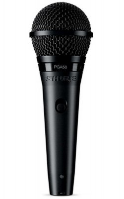 PGA58-XLR - Cardioid dynamic vocal microphone - XLR-XLR cable