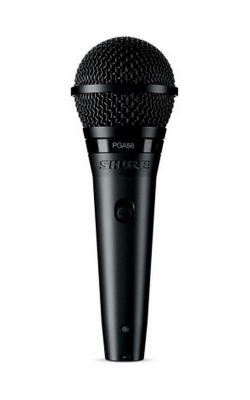 PGA58-QTR - Cardioid dynamic vocal microphone - XLR-QTR cable