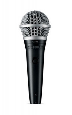 PGA48-QTR - Cardioid dynamic vocal mCardioid dynamic vocal microphone - XLRicrophone - XLR-QTR cable