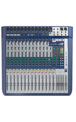 SIGNATURE 16 (US) - SOUNDCRAFT Signature 16