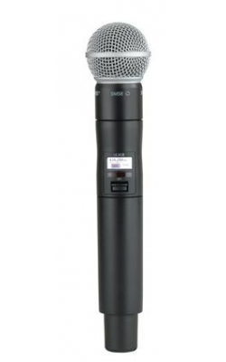 ULXD2/SM58=-X52 - Handheld Transmitter with SM58® Microphone