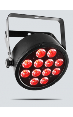 SLIMPART12USB - High output tri-color (RBG) LED wash light with bu