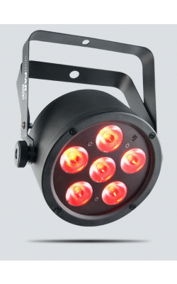 SLIMPART6USB - Low profile; high output tri-color (RGB) LED wash