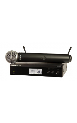 BLX24R/SM58-H9 - Vocal System with (1) BLX4R Rack Mount Wireless Re