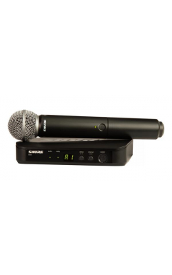 BLX24/SM58-H9 - Vocal System with (1) BLX4 Wireless Receiver and (