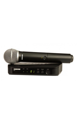 BLX24/PG58-H10 - Vocal System with (1) BLX4 Wireless Receiver and (