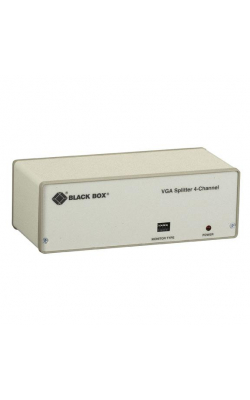 AC057A-R4 - VGA 4-Channel Video Splitter, 115-VAC