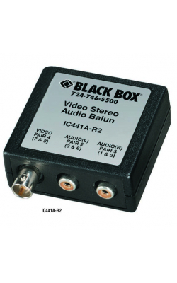 IC441A-R2 - Video/Stereo Audio Balun
