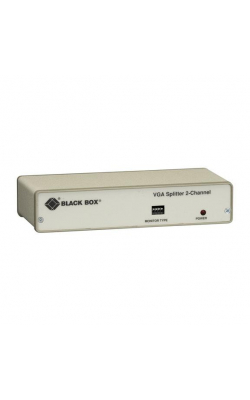 AC056AE-R4 - VGA 2-Channel Video Splitter, 230-VAC