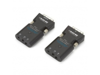 AVX-DVI-FO-MINI - Mini Extender Kit for DVI-D and Stereo Audio over