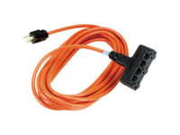 EPWR46 - Indoor/Outdoor Utility Cord, Triple-Outlet, 14/3 G
