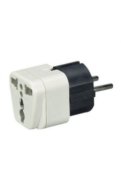 MC167A - Power Plug Adapter, U.S. to Europe, the Middle Eas