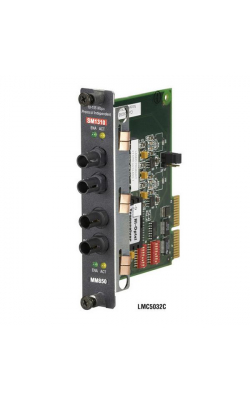 LMC5029C - High-Density Media Converter Sys II, Fiber Mode Co