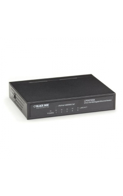 LPDG705A - PoE PD Switch, Unmanaged, 10BASE-T/100BASE-TX/1000