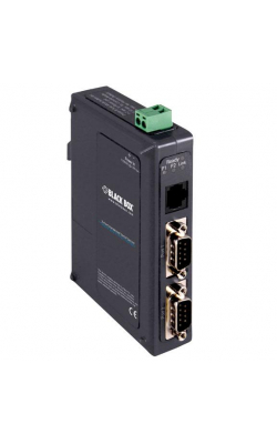 LES422A - 2-Port Hardened Serial Server