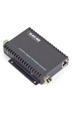 LGC5300A - PoE Industrial Gigabit Ethernet Media Converter, S