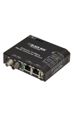 LBH110A-P-ST - Extreme Media Converter Switch, 10-/100-Mbps Coppe